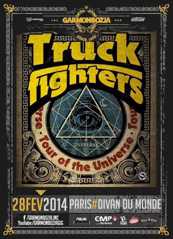 Truckfighters divan du monde 28 fevrier 2014 art 39 n 39 roll for Divan du monde