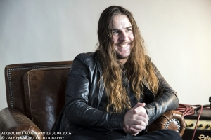 AIRBOURNE INTERVIEW AU GIBSON LE 30.08.2016