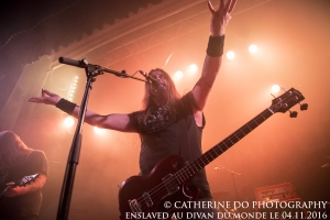 ENSLAVED AU DIVAN DU MONDE LE 04.11.2016 This picture is copyrighted material and all rights are reserved. Do NOT copy without photographer's written consent.